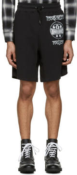 Moschino Black Logo Shorts