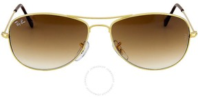 Ray-Ban Cockpit Brown Gradient Lens Sunglasses