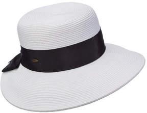 Scala Women's LP149 Dimen Brim Sun Hat with Bow