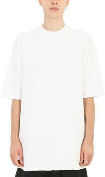 Drkshdw White Cotton Jumbo T-shirt