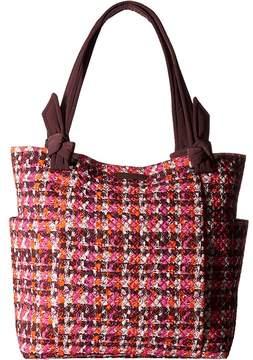 Vera Bradley Hadley Tote Tote Handbags - HOUNDSTOOTH TWEED - STYLE