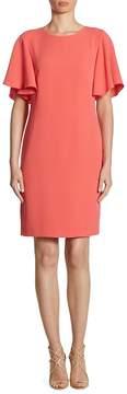Shoshanna Women's Mayberry Ruffle-Sleeve Dress