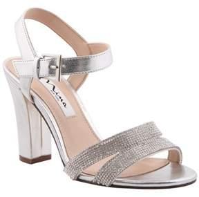 Nina Sylvie Chunky Heel Sandal W/ankle Stp.