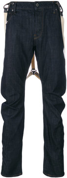 G Star G-Star loose fit suspender jeans