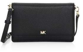 MICHAEL Michael Kors Pebbled Leather Phone Crossbody Bag