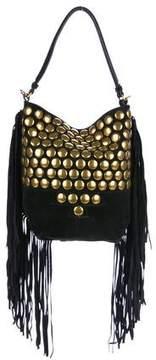Jerome Dreyfuss Studded Fringe Bucket Bag