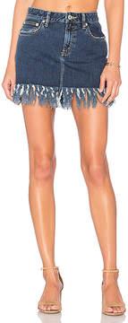 Tularosa Aubrey 5 Pocket Mini Skirt.