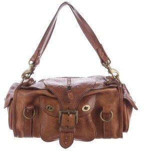 Mulberry Pebbled Leather Shoulder Bag