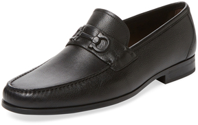 Salvatore Ferragamo Men's Faraone Moc Toe Loafer