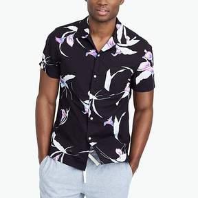 J.Crew Mercantile Slim-fit printed camp-collar shirt