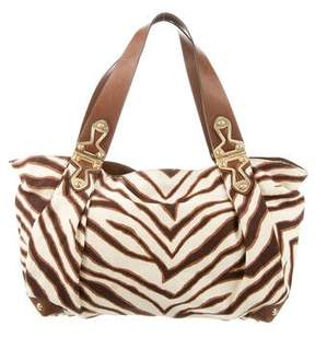 MICHAEL Michael Kors Animal Print Canvas Tote