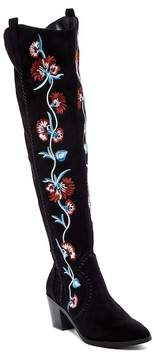 Carlos by Carlos Santana Alexia Embroidered Tall Boot