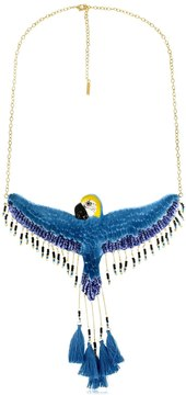 Nach Flying Blue Parrot Necklace