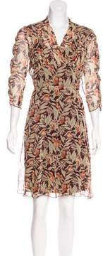 Anna Sui Floral Layered Dress