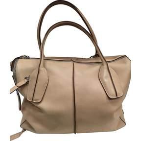 Tod's Beige Leather Handbag