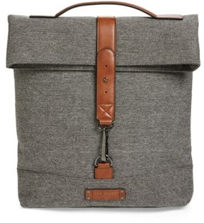 Ted Baker Men's Germyn Wool Backpack - Grey