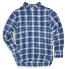 Ralph Lauren Girl's Plaid Shirt