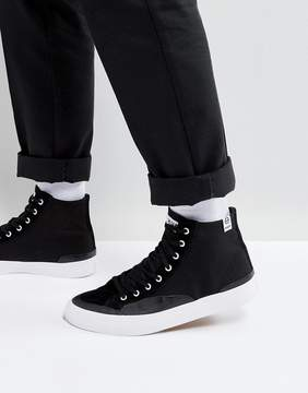 HUF Classic High Sneakers In Black