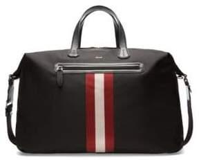 Bally Camer Nylon Weekender Bag