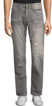 Buffalo David Bitton Slim-Fit Distressed Jeans