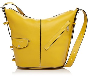 Marc Jacobs The Sling Leather Hobo - CANARY/SILVER - STYLE