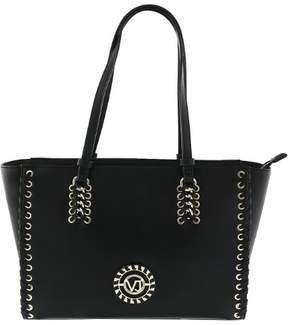 Versace EE1VRBBI1 Light Black Tote Bag W/ detachable strap