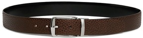 Isaia Reversible calfskin leather belt