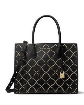 MICHAEL Michael Kors Mercer Large Studded Convertible Tote Bag