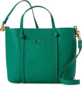 Foley + Corinna Green Faux Leather Satchel
