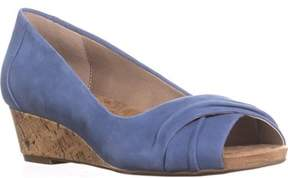 Giani Bernini Gb35 Rivey Peep Toe Wedge Pump Sandals