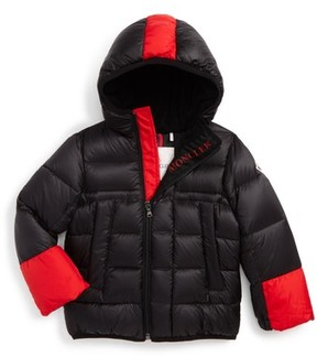 Moncler Infant Boy's Drake Hooded Down Coat