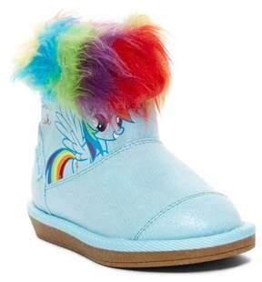 Stride Rite MLP Dash Wonderbolt Faux Fur Trim Boot (Toddler)