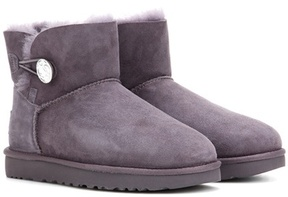 UGG Mini Bailey embellished suede ankle boots