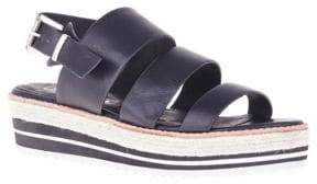 Sol Sana Marla Leather Wedge Sandals