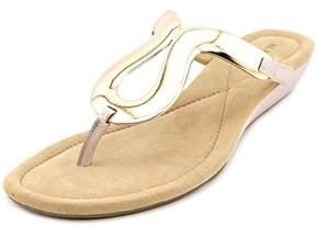 Alfani Womens Farynn Split Toe Casual Platform Sandals Us.