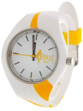 Everlast Soft Touch Rubber Strap and Case Watch - Yellow