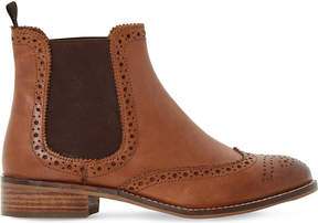 Dune Quentin leather chelsea boots