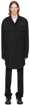 Raf Simons Black Oversized Pockets Shirt
