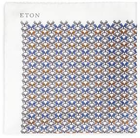 Eton Bulldog Pocket Square
