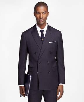 Brooks Brothers Milano Fit Double-Breasted 1818 Suit