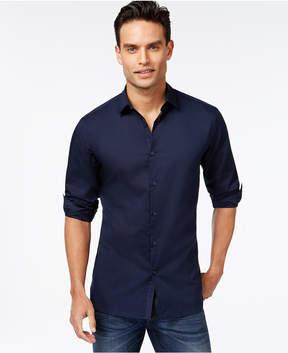 Alfani Men's Slim-fit Stretch Long-Sleeve Shirt, Created for Macy's