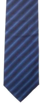 Christian Dior Striped Silk Tie
