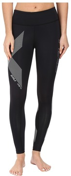 2XU Hyoptik Mid-Rise Compression Tights Women's Workout
