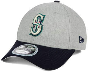 New Era Seattle Mariners Heather Hit 9FORTY Cap
