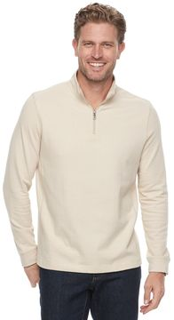 Croft & Barrow Men's Classic-Fit Ultra Soft Quarter-Zip Pullover