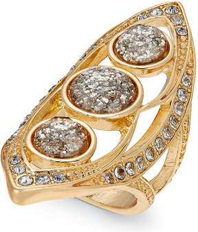 Thalia Sodi Gold-Tone Multi-Crystal Statement Ring, Created for Macy's