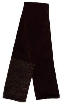 Dolce & Gabbana Multi Pattern Velvet Scarf