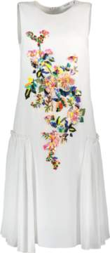 Blugirl Floral Embroidered Dress