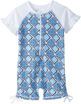 Snapper Rock Girls' Moroccan S/S One Piece Sunsuit (024mos) - 8155099