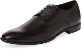 a. testoni Men's Plain-Toe Derby Shoe